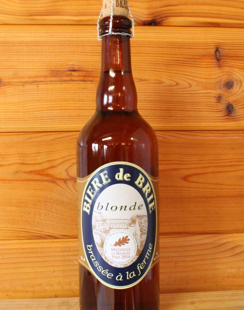 Bière de Brie blonde
