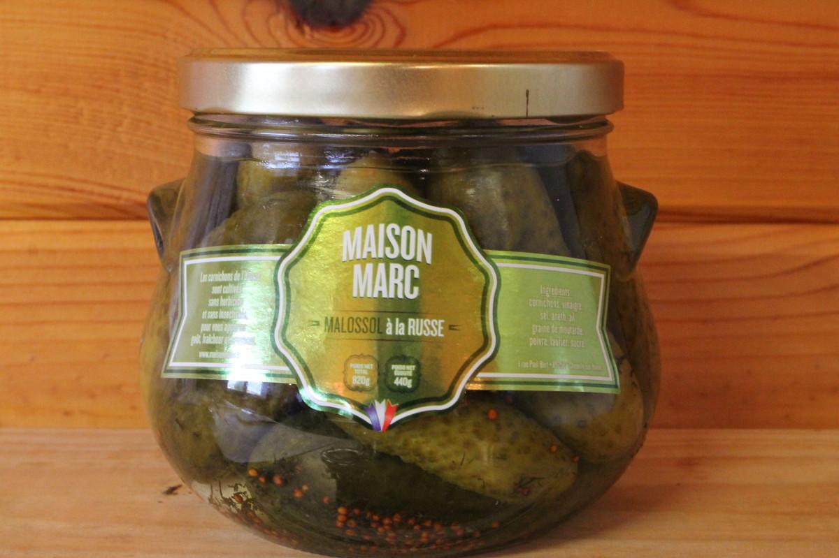 Cornichons – Malossol à la russe